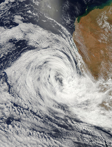 NASA Satellites See Wind Shear Battering Tropical Depression Iggy