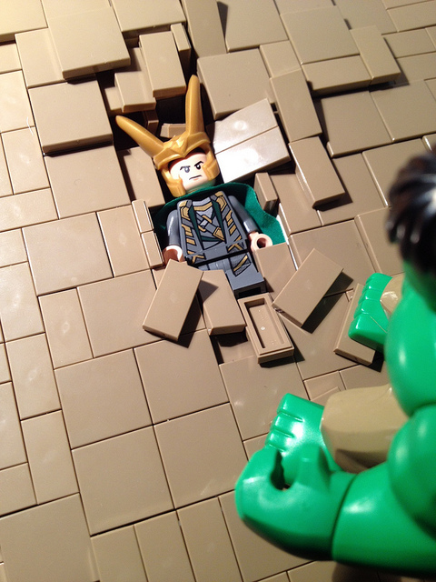 better view of smashed Loki