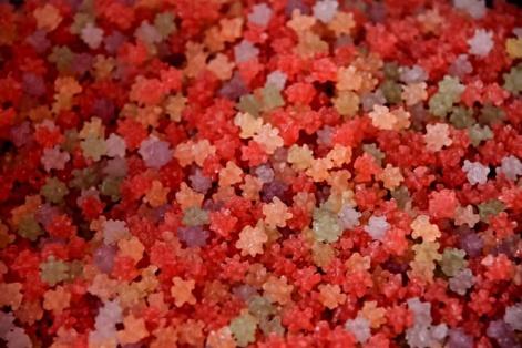 赤い金平糖