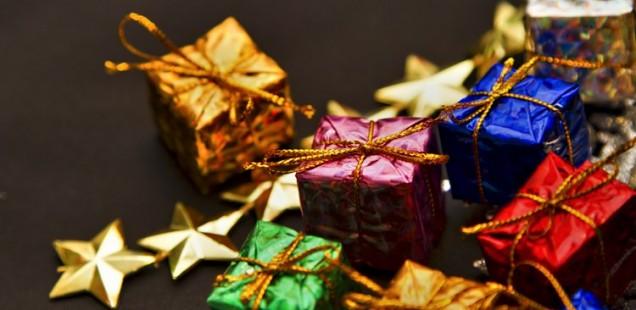 スターとプレゼントボックス