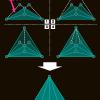 フラクタル型を利用した完全三重の作り方